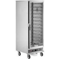 ServIt CC1UFNCF Full Size Uninsulated Holding and Proofing Cabinet with Clear Door - 120V, 2000W