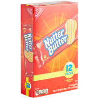 Nabisco Nutter Butter 4-Count (1.9 oz.) Cookie Pack - 48/Case