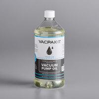 VacPak-It Premium Synthetic Vacuum Packaging Machine Pump Oil - 1 Qt.