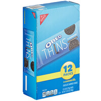 Nabisco Oreo Thins 4-Count (1.02 oz) Cookie Pack - 48/Case