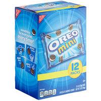Nabisco Oreo Mini Cookies 1 oz. Snack Pack - 48/Case