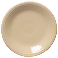 Homer Laughlin 464330 Fiesta Ivory 7 1/4 inch Salad Plate - 12/Case