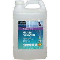 ECOS PL9362/04 Pro 1 Gallon Orangerine Scented Glass Cleaner - 4/Case