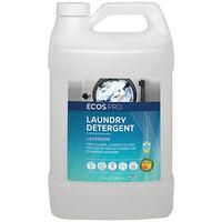 ECOS PL9755/04 Pro 1 Gallon Lavender Scented Liquid Laundry Detergent - 4/Case