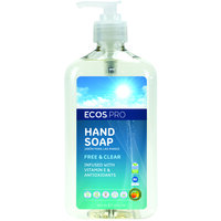 ECOS PL9663/6 Pro 17 oz. Free and Clear Hand Soap - 6/Case