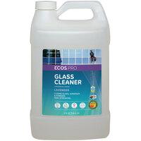 ECOS PL9301/04 Pro 1 Gallon Lavender Scented Glass Cleaner - 4/Case