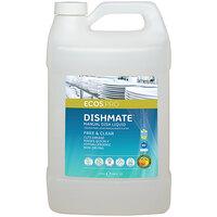 ECOS PL9721/04 Pro Dishmate 1 Gallon Free and Clear Manual Dishwashing Liquid - 4/Case