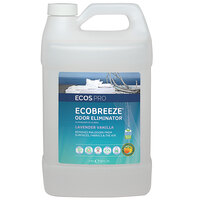 ECOS PL9840/04 Pro EcoBreeze 1 Gallon Lavender Vanilla Scented Odor Eliminator - 4/Case