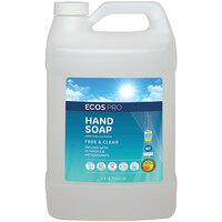 ECOS PL9663/04 Pro 1 Gallon Free and Clear Hand Soap - 4/Case
