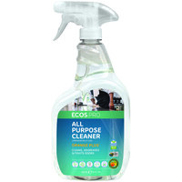 ECOS PL9706/6 Pro 32 oz. Orange Plus Scented All-Purpose Cleaner Spray Bottle - 6/Case