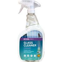 ECOS PL9301/6 Pro 32 oz. Lavender Scented Glass Cleaner Spray Bottle - 6/Case