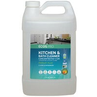 ECOS PL9346/04 Pro 1 Gallon Concentrated Parsley Scented All-Purpose Cleaner - 4/Case