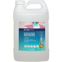 ECOS PL9707/04 Pro 1 Gallon Lemon Scented Stain and Odor Remover - 4/Case