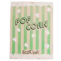 Bagcraft Papercon 300613 7 1/2 inch x 3 1/2 inch x 9 inch 130 oz. EcoCraft Popcorn Bag - 500/Case