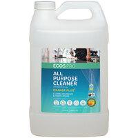 ECOS PL9706/04 Pro 1 Gallon Orange Plus Scented All-Purpose Cleaner - 4/Case