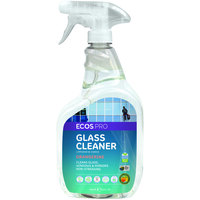 ECOS PL9362/6 Pro 32 oz. Orangerine Scented Glass Cleaner Spray Bottle - 6/Case