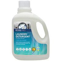 ECOS PL9371/02 Pro 170 oz. Free and Clear Liquid Laundry Detergent - 2/Case
