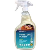 ECOS PL9731/6 Pro 32 oz. Lemon Scented Furniture Polish Spray Bottle - 6/Case