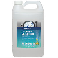 ECOS PL9764/04 Pro 1 Gallon Free and Clear Liquid Laundry Detergent - 4/Case