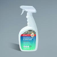 ECOS PL9635/06 Pro 32 oz. Fresh Citrus Scented Multi-Surface Disinfectant and Sanitizer - 6/Case