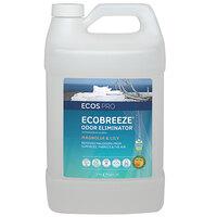ECOS PL9839/04 Pro EcoBreeze 1 Gallon Magnolia and Lily Scented Odor Eliminator - 4/Case