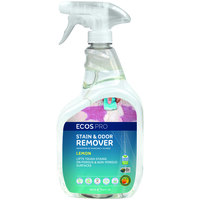 ECOS PL9707/6 Pro 32 oz. Lemon Scented Stain and Odor Remover Spray Bottle - 6/Case