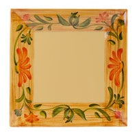 GET ML-92-VN 16 inch x 16 inch Square Venetian Plate