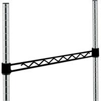 Metro H114-DBM Black Matte Hanger Rail 14 inch