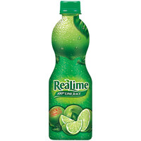 ReaLime 8 fl. oz. 100% Lime Juice - 12/Case
