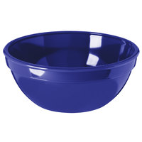 Carlisle PCD31950 Dark Blue 15 oz. 5 1/4 inch Polycarbonate Bowl - 48/Case