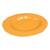 GET ML-144-TY New Yorker 21 inch x 15 inch Oval Platter - Tropical Yellow