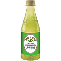 Rose's 12 fl. oz. Sweetened Lime Juice - 12/Case