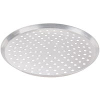 American Metalcraft CAR10P 10 inch Perforated Heavy Weight Aluminum Cutter Pizza Pan