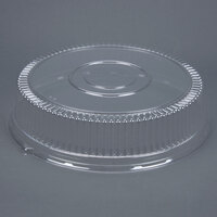 Sabert 5518 18 inch Clear Dome Lid for Round Catering Tray - 3 / Pack