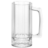 Cambro BWB16CW 16 oz. Aliso Plastic Beer Mug - 12/Case