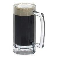 Cambro BWB16CW 16 oz. Aliso Polycarbonate Beer Mug - 12/Case