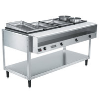 Vollrath 38004 ServePan Electric Four Pan Hot Food Table 120V - Sealed Well