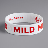 Choice Mild Silicone Squeeze Bottle Label Band for 16, 20, and 24 oz. Standard & Wide Mouth Bottles