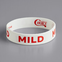 Choice Mild Silicone Squeeze Bottle Label Band for 32 oz. Standard & Wide Mouth Bottles