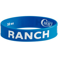 Choice Ranch Silicone Squeeze Bottle Label Band for 32 oz. Standard & Wide Mouth Bottles