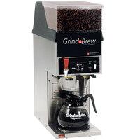 Grindmaster GNB11H 5.5 lb. Single Hopper 64 oz. Decanter Grind'n Brew Coffee Grinder and Automatic Brewer - 120V