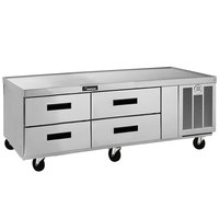 Delfield F2962CP 62 inch Four Drawer Refrigerated Chef Base