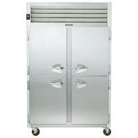 Traulsen G22000 2 Section Half Door Reach In Freezer - Left / Right Hinged Doors