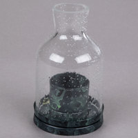 Sterno Products 80134 4 1/2 inch Clear Glass Lantern Liquid Candle Holder