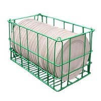 5 Compartment Catering Plate Basket for 6 inch Fruit Dish - Store, Transport