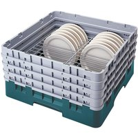 Cambro CRP4467414 Teal Full Size PlateSafe Camrack 6-7 inch