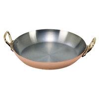 De Buyer 6449.16 Copper Paella Pan - 6 1/4 inch