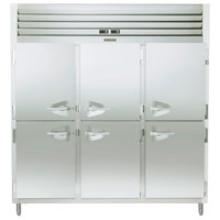 Traulsen ADT332NUT-HHS 60.7 Cu. Ft. Three Section Half Door Narrow Reach In Refrigerator / Freezer - Specification Line