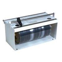 Bulman A550-12 12 inch White Counter Mount Food Wrap Film Dispenser