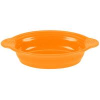 Homer Laughlin 815325 Fiesta Tangerine 24 oz. Large Oval Baker - 3 / Case